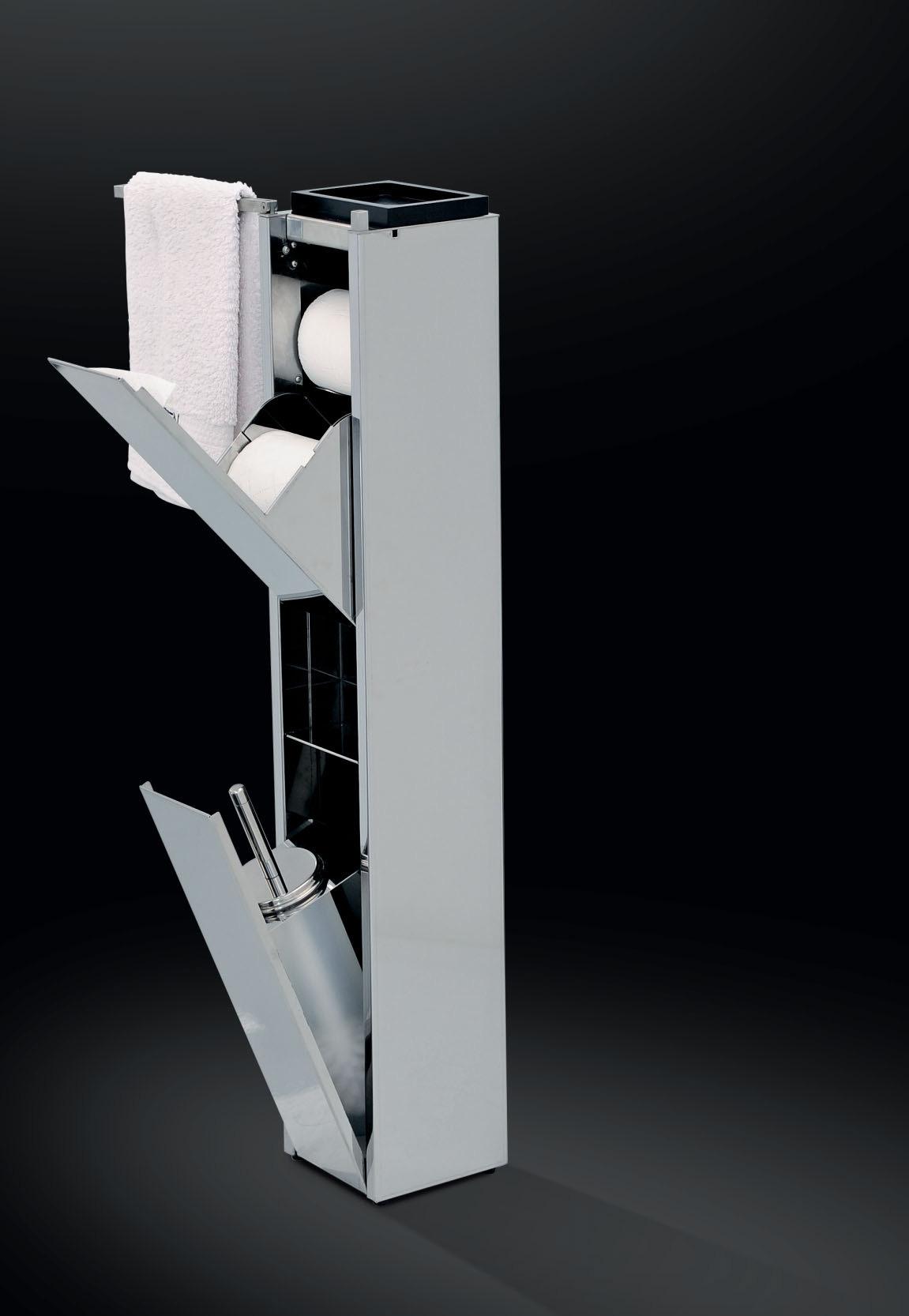 Accessori arredo bagno in acciaio inox su misura marinox for Design accessori