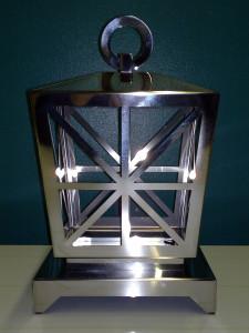 Lanterna acciaio inox lucido