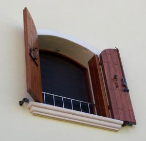 Parapetto da finestra