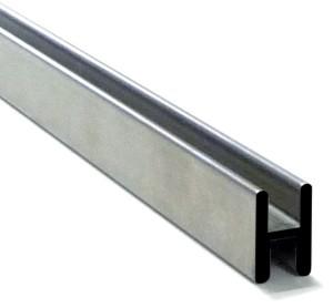 Profilo ad H per giunzione doppio vetro