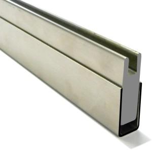 Profilo compensatore per perpendicolarità vetro-muro