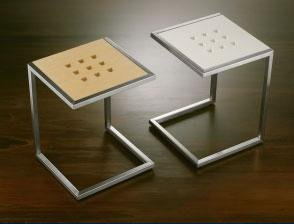 Seggiolini con seduta rovere bianca o wengè
