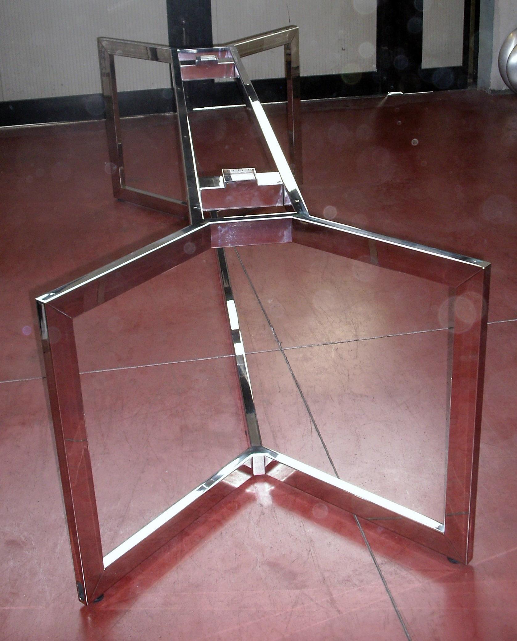 Gambe per tavoli in vetro kimera tavolo allungabile in for Gambe per tavoli